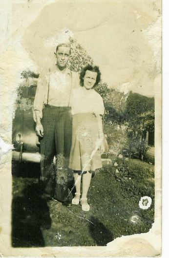 This is a picture of my grandparents from back in the 1940's.